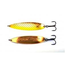 Блесна колеблющаяся AGAT Super Taimen Gold Spoon Yellow-24g